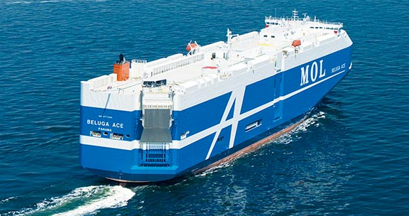 New system speeds up car carrier loading by 40%