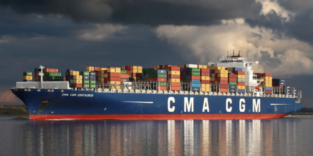 CMA CGM freezes spot rate increases