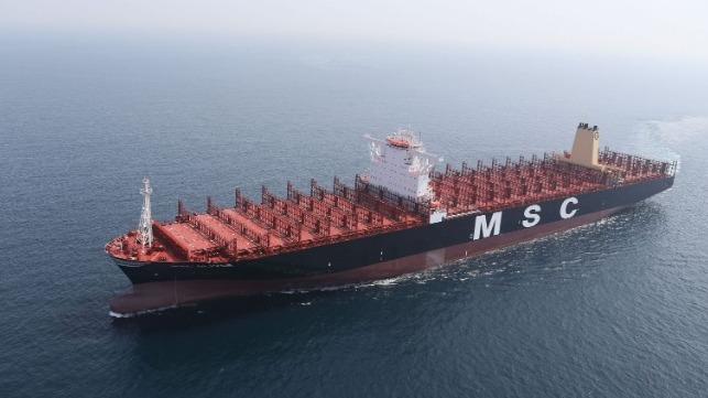 """MSC CEO: Shipping is a """"Force for Good"""""""